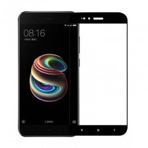 Tempered Glass 9H 3D Full Glue Προστασία Οθόνης για Xiaomi Mi A1 - Μαύρο