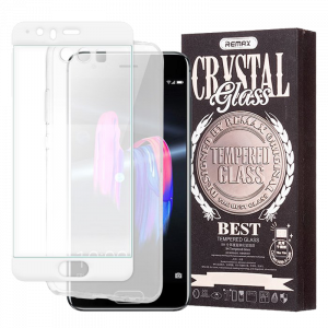 Tempered Glass Remax Crystal Glass 3D και Θήκη Σιλικόνης για Huawei P10 Plus