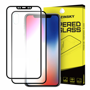 Tempered Glass Wozinsky Edge to Edge Aluminum Frame για Apple iPhone XS / X - Μαύρο