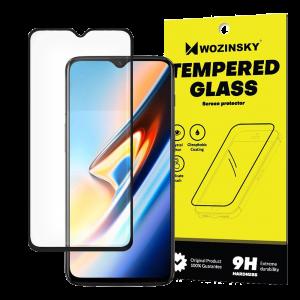 Tempered Glass Wozinsky Full Glue 9H Προστασία οθόνης για OnePlus 6T - Μαύρο