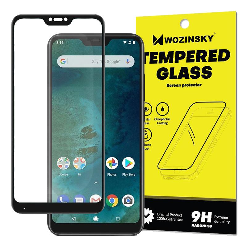 1abf78bc4a Tempered Glass Wozinsky Full Glue 9H Προστασία οθόνης για Xiaomi Mi A2 Lite  - Μαύρο