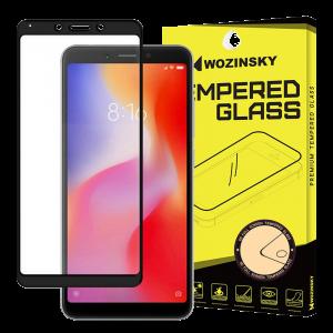 Tempered Glass Wozinsky Full Glue 9H Προστασία οθόνης για Xiaomi Redmi 6A - Μαύρο