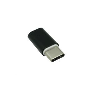 Αντάπτορας OEM Micro USB σε Type C - Μαύρο