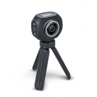 Action Camera Forever SC-500 4K 360 Μοιρών - Μαύρο