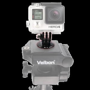 """Αντάπτορας Στήριξης Τρίποδα 1/4"""" για Action Cameras GoPro"""