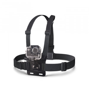 Βάση Στήθους Forever για Action Cameras - Μαύρο