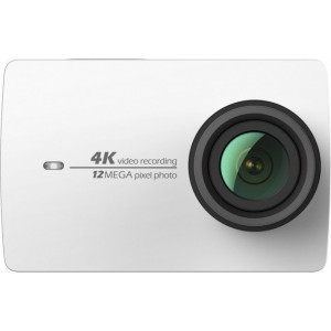 Action Camera Yi Technology 4K 12MP CMOS με Wi-Fi και Bluetooth 4.0 - Άσπρο