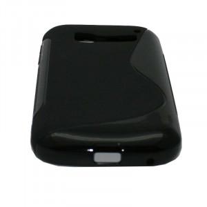 Θήκη Alcatel C5 One Touch Pop Σιλικόνης TPU S-LINE (Μαύρο)
