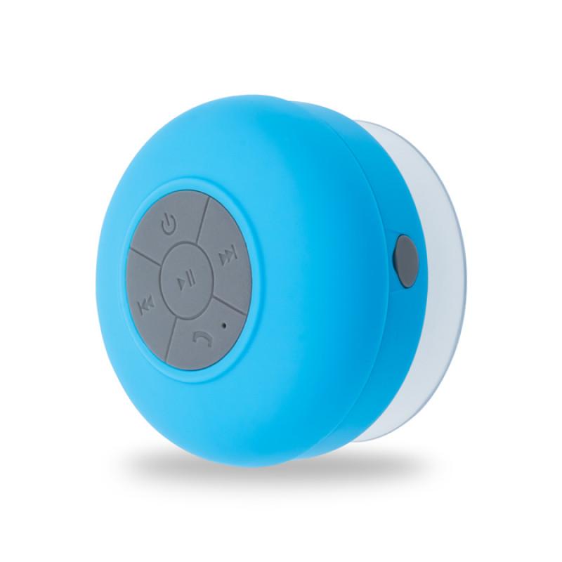 Ηχείο Bluetooth Forever BS-330 Αδιάβροχο με Βάση Βεντούζα - Μπλε