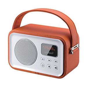 Φορητό Ραδιόφωνο Bluetooth SUNSTECH RPBT450OR - Πορτοκαλί