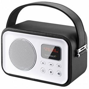 Φορητό Ραδιόφωνο Bluetooth SUNSTECH 223303 - Μαύρο