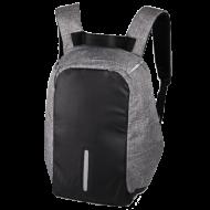 """Σακίδιο για Laptop NOD City Safe LBP-200 15.6"""" Γκρι/Μαύρο"""
