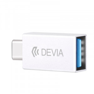 Αντάπτορας Devia Type-C to USB 3.0 - Άσπρο