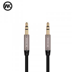 Καλώδιο Ήχου WK-Design Melody WDC-019 Male 3.5mm σε Male 3.5mm - Μαύρο