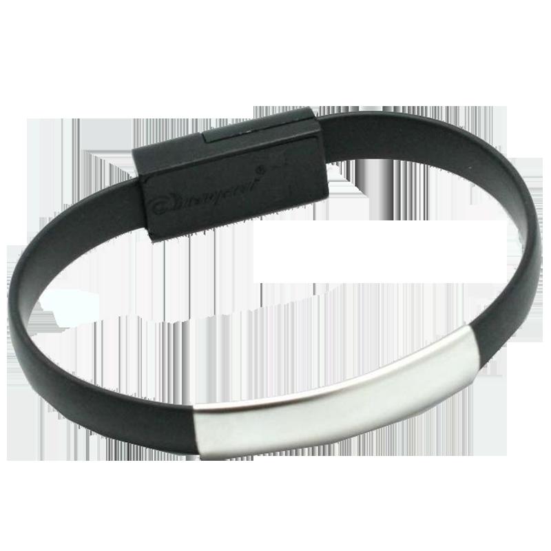 Καλώδιο Φόρτισης και Μεταφοράς Δεδομένων OEM Bracelet MicroUSB - Μαύρο