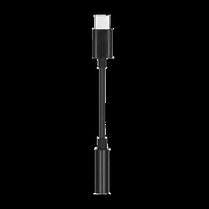 Αντάπτορας Type-C (Male) σε Audio Jack 3.5mm (Female) - Μαύρο