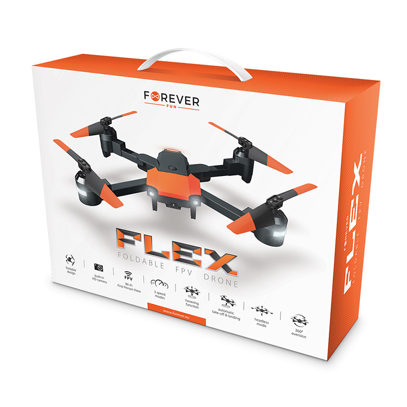 Drone Forever Flex με ενσωματωμένη κάμερα