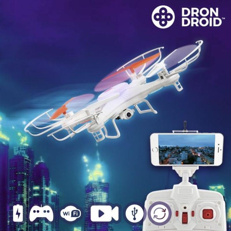 Drone Droid Hanks WFHDV2000 - Άσπρο