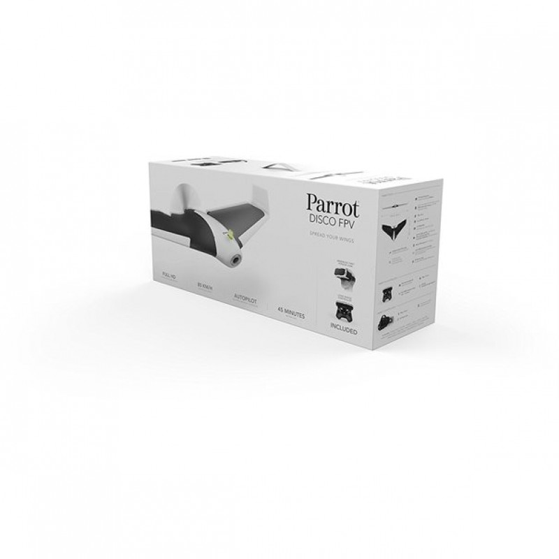 Drone Parrot Disco FPV incl. Skycontroller + FPV-Glasses - Μαύρο / Άσπρο