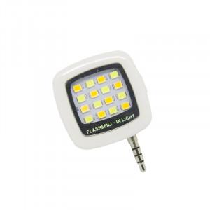 Φακός LED Flash & Fill για Smartphones - Λευκό