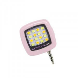 Φακός LED Flash & Fill για Smartphones - Ροζ
