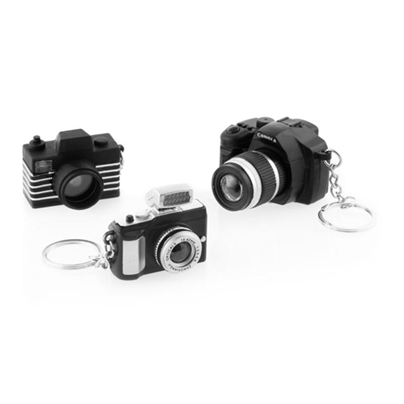 d71bf4bd777e Μπρελόκ Φωτογραφική Μηχανή με LED και Ήχο