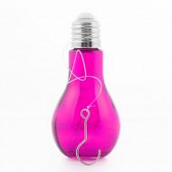 Λάμπα LED με Λαμπτήρα Retro - Ροζ