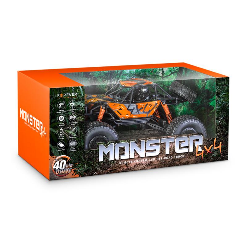 Τηλεκατευθυνόμενο αυτοκίνητο Forever RC-200 Monster 4x4