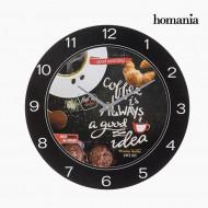 Ρολόι Τοίχου Ξύλινο Food