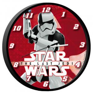 Ρολόι Τοίχου Star Wars The Last Jedi Stormtrooper