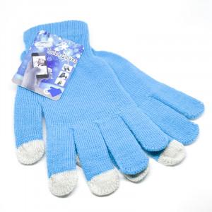 Γάντια για Οθόνη Αφής Touch - Γαλάζιο