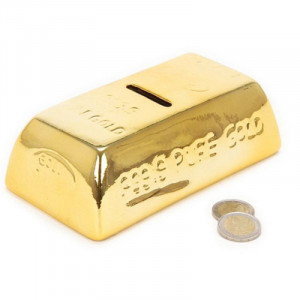 Κουμπαράς Κεραμικός Ράβδος Χρυσού
