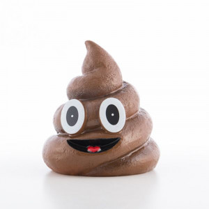 Κουμπαράς Emoticon Poop