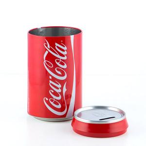 Κουμπαράς Μεταλλικός Coca-Cola