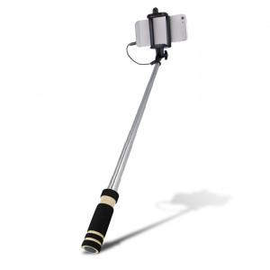 Selfie Stick Setty με Καλώδιο - Μαύρο