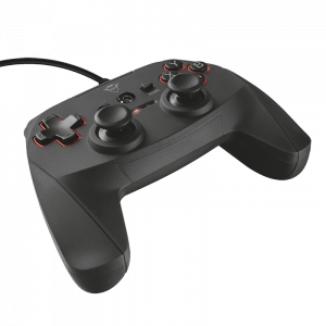 Gamepad Trust GXT 540 Yula για PC/PS3 - Μαύρο