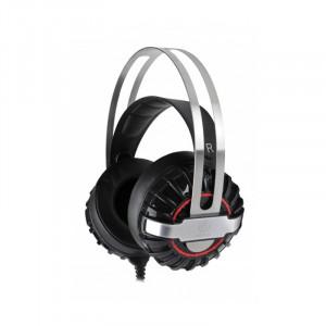 Gaming Ακουστικά Rebeltec Typhoon - Μαύρο / Ασημί