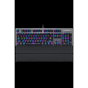Gaming Πληκτρολόγιο Motospeed CK108 Ενσύρματο Μηχανικό (Black Switches) - Μαύρο