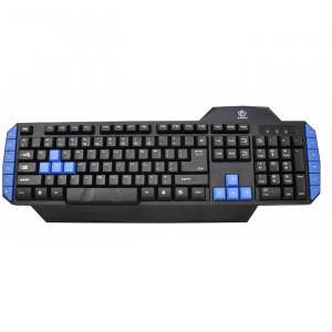 Gaming Πληκτρολόγιο REBELTEC Warrior - Μαύρο/Μπλε