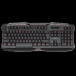 Gaming Πληκτρολόγιο Trust GXT 280 LED Illuminated - Μαύρο