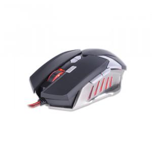 Gaming Ποντίκι Rebeltec Destroyer Ενσύρματο - Μαύρο/Ασημί