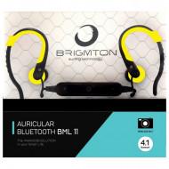 Headphones με Μικρόφωνο Bluetooth BRIGMTON BML-11-AM - Κίτρινο