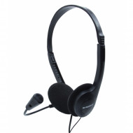Headphones B-Move SoundOne BM-AUC01 - Μαύρο
