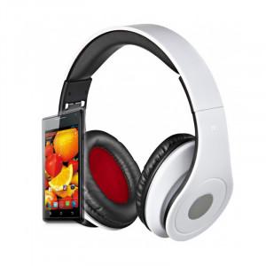 Headphones Rebeltec Audiofeel2 - Άσπρο