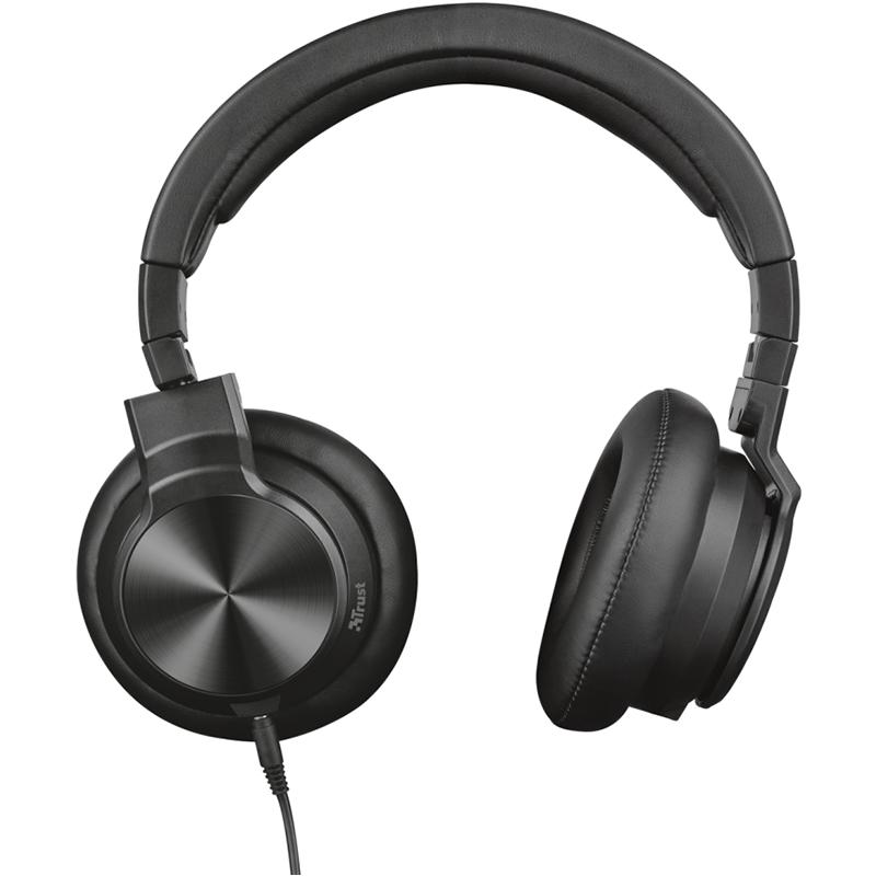 Headphones Trust DJ-500PRO - Μαύρο