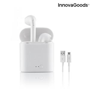 Bluetooth Headset ασύρματα ακουστικά SmartPods InnovaGoods - Λευκό