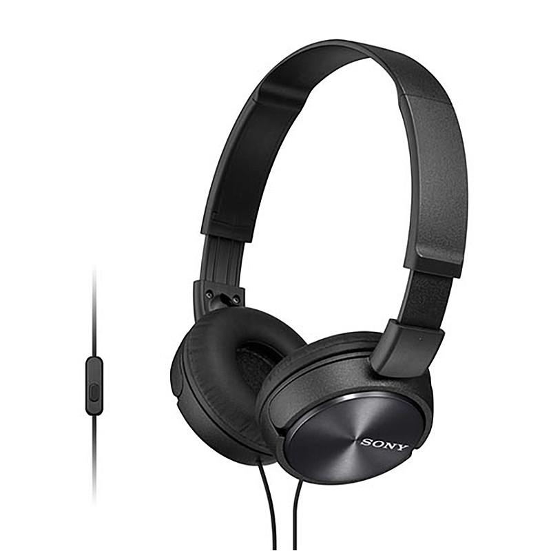 Headphones Sony MDRZX310APB - Μαύρο