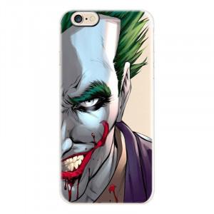 Θήκη Σιλικόνης με σχέδιο Joker για iPhone 7/8  - Διάφανη
