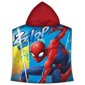 Πετσέτα Θαλάσσης Πόντσο με Κουκούλα για Παιδιά Cerda Marvel Spiderman - 120 x 60 cm