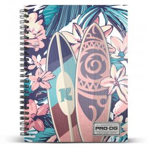 Τετράδιο Σπιράλ με Σκληρό Εξώφυλλο Pro DG Samoa A5